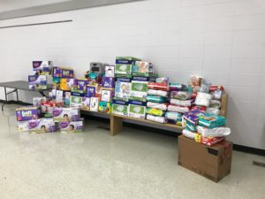 St Francis Diaper Donation